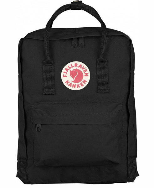 Fjallraven - Kanken Backpack - Black-Backpack-Leggsington