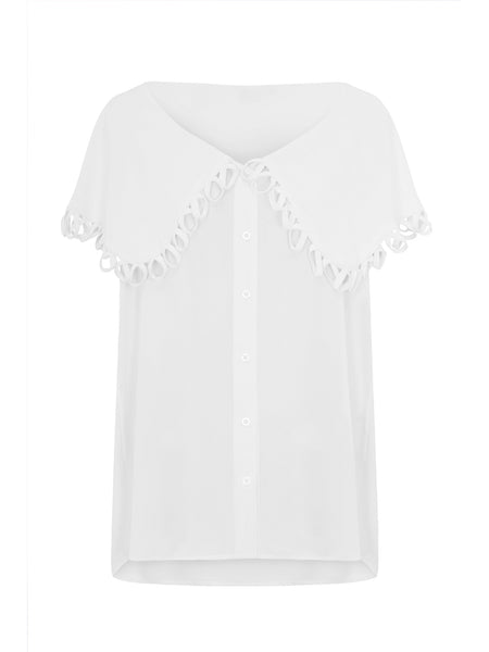 Taylor Blouse- White