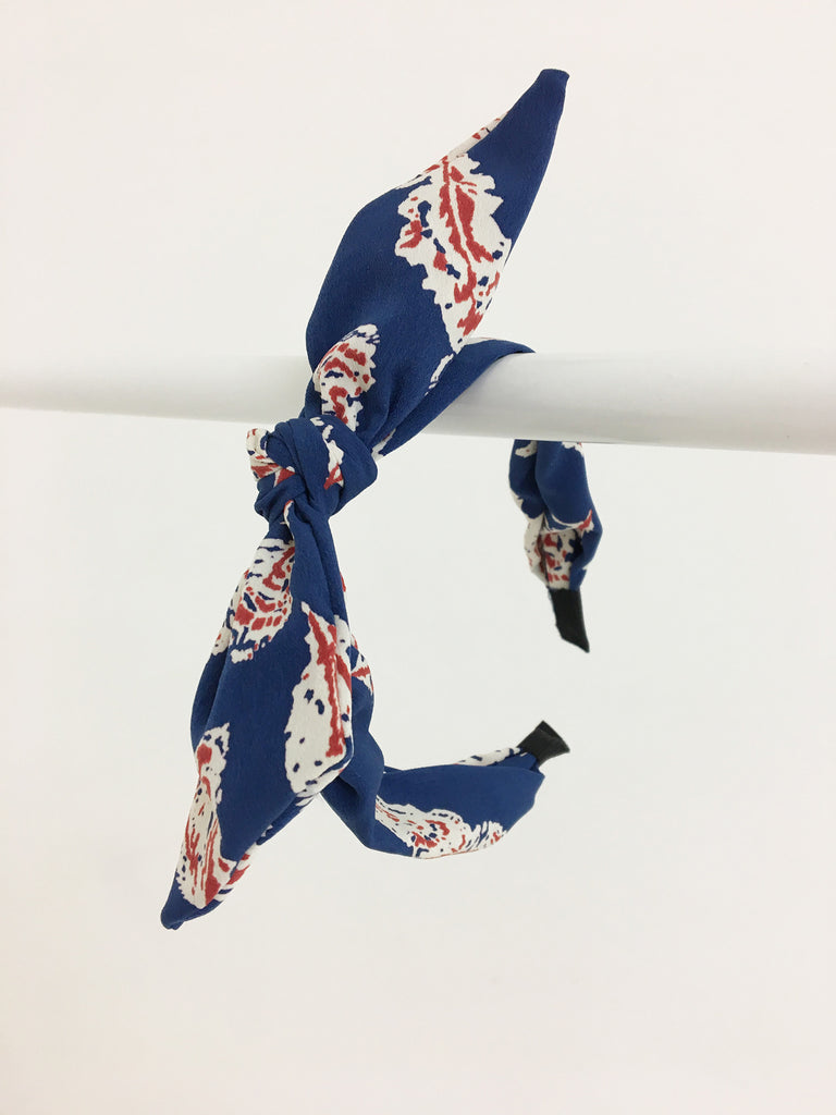 Tie Knot Fabric Headband