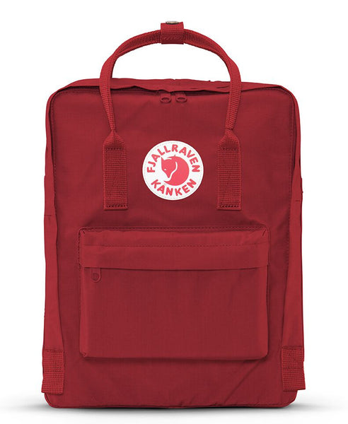 Fjallraven - Kanken Backpack Mini - Deep Red-Backpack-Leggsington