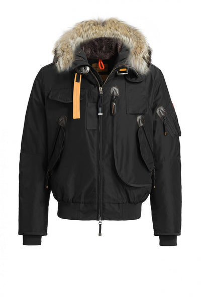 Parajumpers Men - Gobi - Bomber Jacket - Black-Outerwear-Leggsington