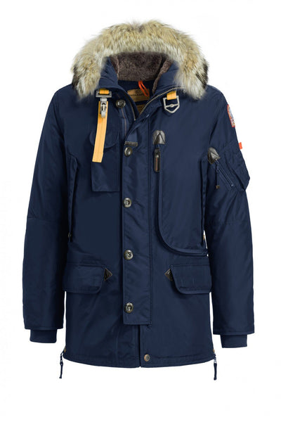 Parajumpers Men - Kodiak Masterpiece Parka Jacket - Navy-Outerwear-Leggsington
