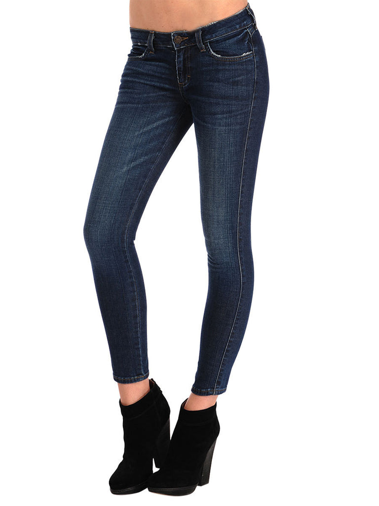Siwy Denim - 'Hannah in Lucky' - Dark Blue Skinny Jeans-JEANS-Leggsington