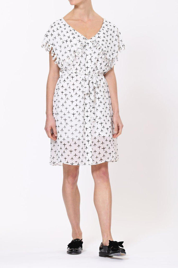 Taylor Dress- White-Dress-Leggsington