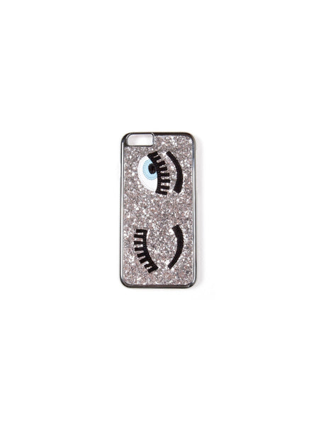 Chiara Ferragni - Flirting IPhone Case - Silver