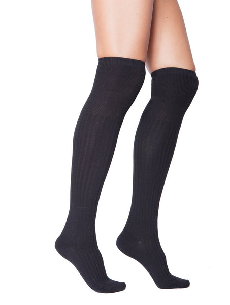 Dana Over the Knee Socks-Knee Socks-Leggsington