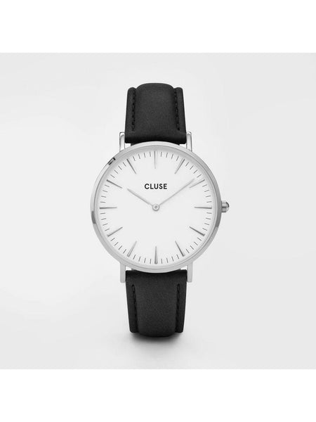 Cluse Watches - La Bohème - Silver White/Black-Accessories-Leggsington