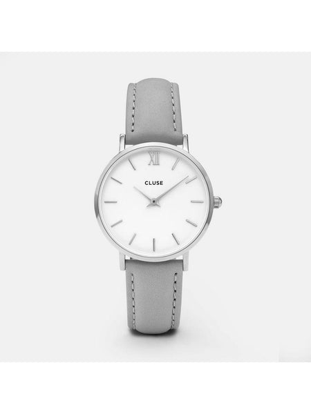 Cluse Watches - Minuit - Silver Grey-Accessories-Leggsington
