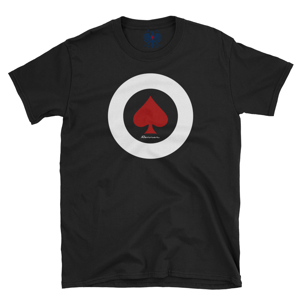Rennen Ace of Spades Roundel – Classic Black