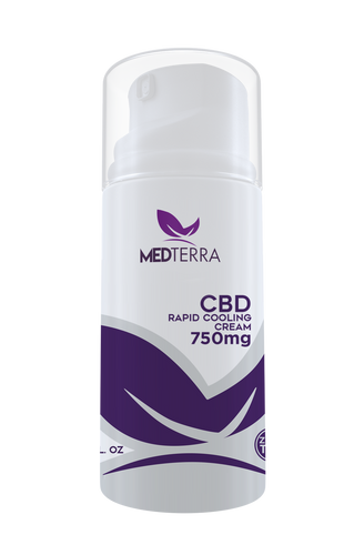 MedTerra Topical Cooling Cream 750mg