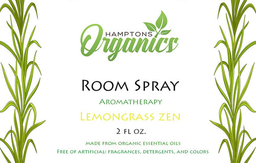 Organic Room Spray-Lemongrass Zen