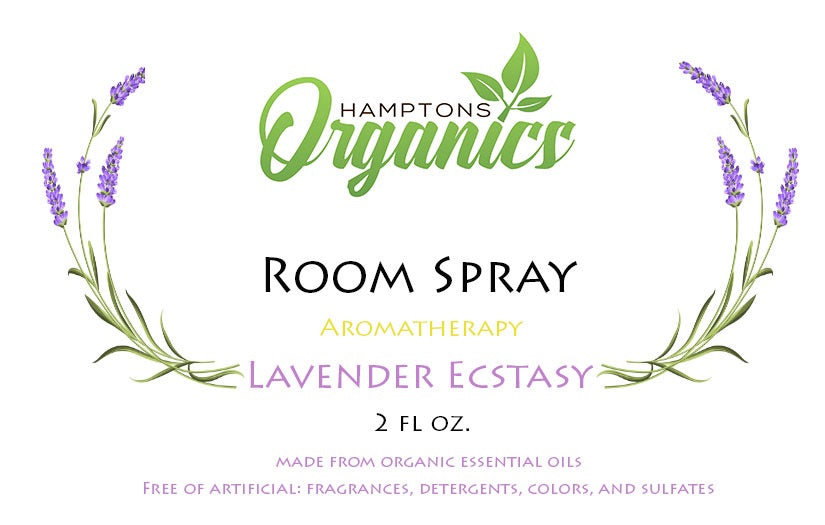 Organic Room Spray-Lavender Ecstasy