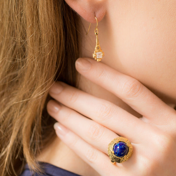 Dome Lapis Ring