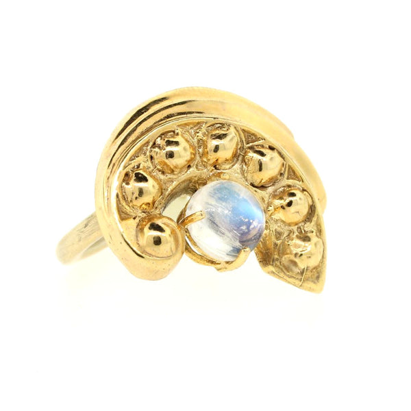 Rainbow Moonstone Ring - Lanie Lynn  - 1