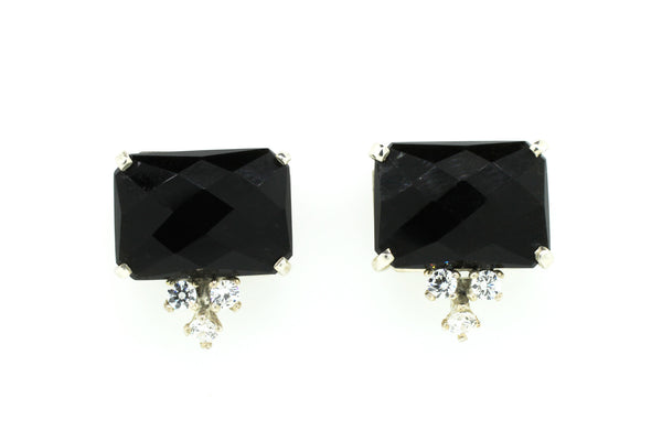 Black Onyx Earrings - Lanie Lynn