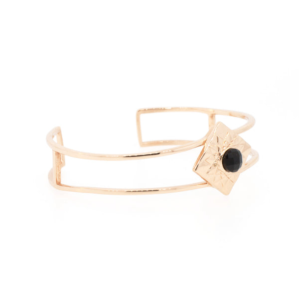 Thin Egyptian Sun Cuff - Lanie Lynn  - 4