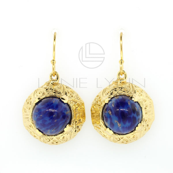Dome Dangling Earrings - Lanie Lynn  - 1