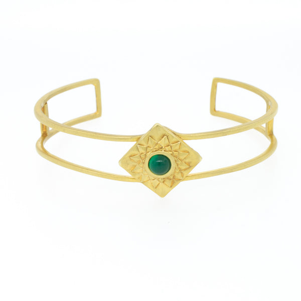 Thin Egyptian Sun Cuff - Lanie Lynn  - 1