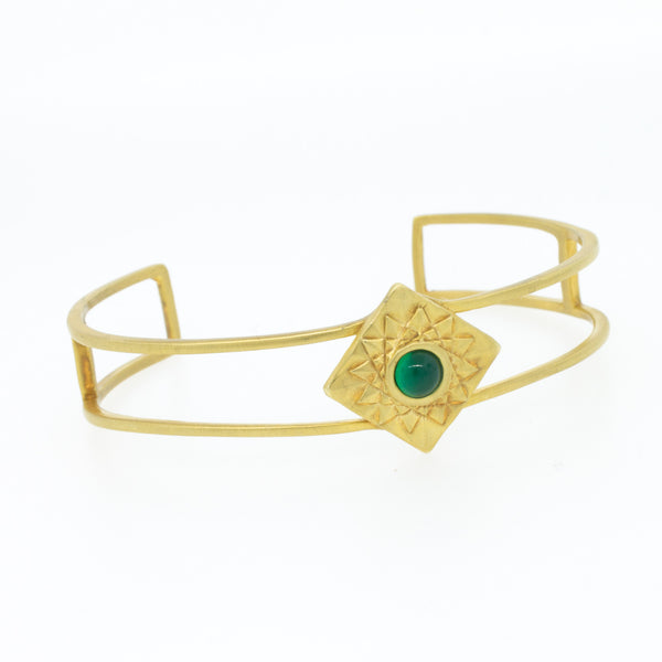 Thin Egyptian Sun Cuff - Lanie Lynn  - 2