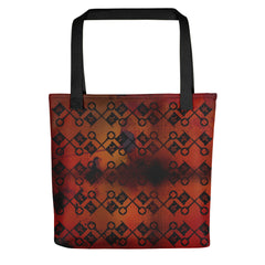 Crossed Keys (Ruddy) Tote bag