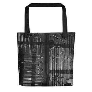 Embalming Instruments ~ Tote bag - Laura Flook