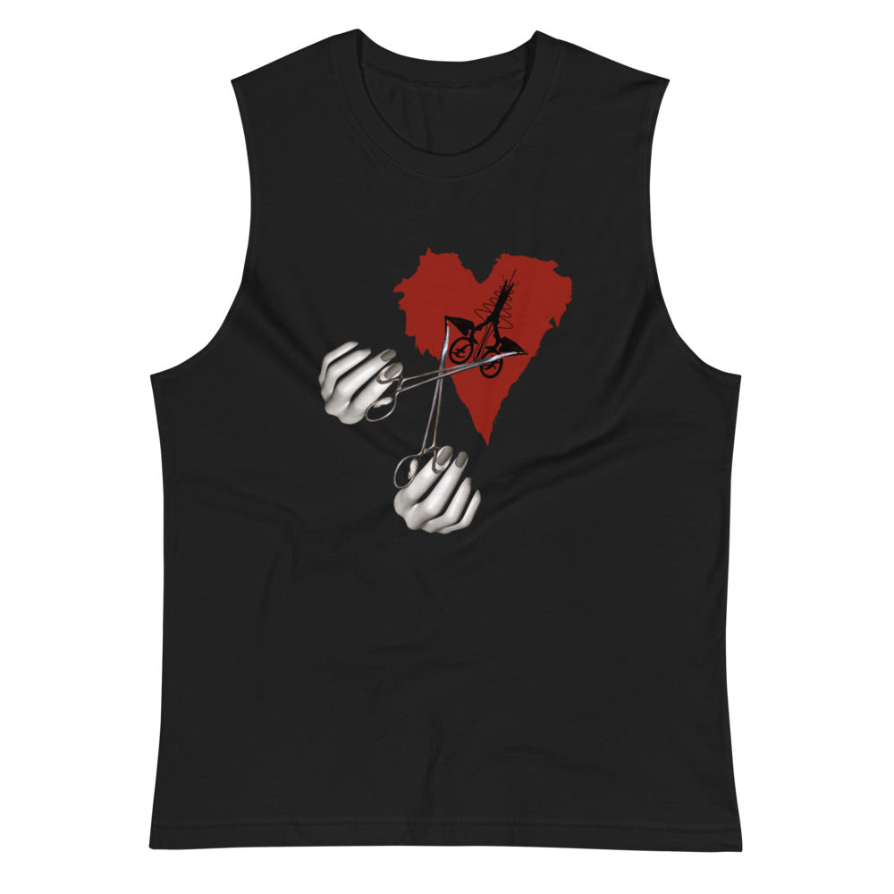The Extraction ~ cardiac muscle shirt - Laura Flook