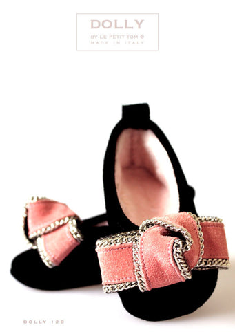 Shoes - Baby Ballerina - black - le faire - Le Petit Tom - 1
