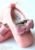 Shoes - Baby Ballerina - pink - le faire - Le Petit Tom - 2