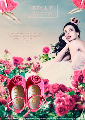 Shoes - Lucy Rosebud - fuchsia - le faire - Le Petit Tom - 1