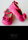 Shoes - Lucy Rosebud - fuchsia - le faire - Le Petit Tom - 2
