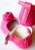Shoes - Lucy Rosebud - fuchsia - le faire - Le Petit Tom - 4