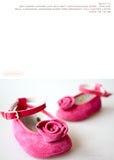 Shoes - Lucy Rosebud - fuchsia - le faire - Le Petit Tom - 6