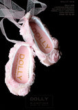 Shoes - Baby Ballerina - pink roses - le faire - Le Petit Tom - 1