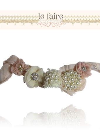 Gemstone Sash - le faire - Carnival Designs