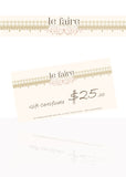 Gift Certificates - le faire - Carnival Designs - 1