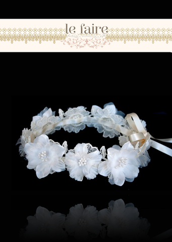 Floral Crown - le faire - Le Faire