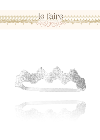 Lace Headband - le faire - Carnival Designs