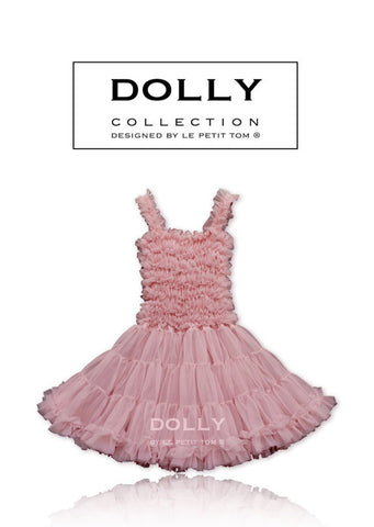 PettiDress - dusty pink - le faire - Le Petit Tom - 1