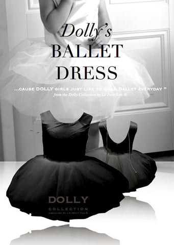 Ballet Dress - black - le faire - Le Petit Tom - 1