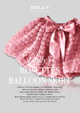 Rosettes Balloon Skirt - pink - le faire - Le Petit Tom - 4