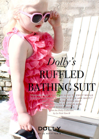 Ruffled Bathing Suit - le faire - Le Petit Tom - 1