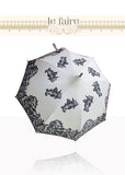 French Parasol - Black & White Lace - le faire - -------- - 2