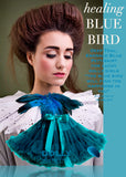 Pettiskirt - Blue Bird - deep teal, emerald blue - le faire - Le Petit Tom - 1