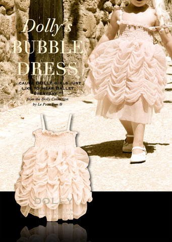 Bubble Dress - cream - le faire - Le Petit Tom - 1