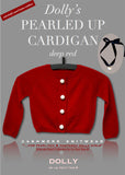 Pearled Up Cardigan - Cashmere - red - le faire - Le Petit Tom - 17
