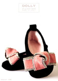 Shoes - Baby Ballerina - black - le faire - Le Petit Tom - 3