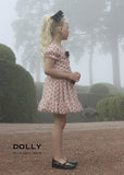 Dotty Top - ballet pink with black dots - le faire - Le Petit Tom - 5
