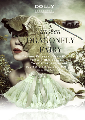 Pettiskirt - Dragonfly Fairy - champs elysees green - le faire - Le Petit Tom - 1