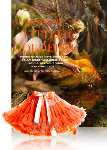 Pettiskirt - Little Goldfish - fresh orange - le faire - Le Petit Tom - 1