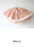Pettiskirt - lace trim - pale apricot - le faire - Le Petit Tom - 5